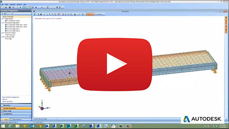 structural bridge design overview video