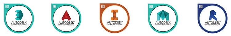 Autodesk Certified Professional Badges